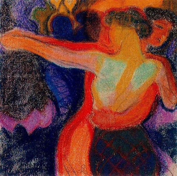 """Rilke Part 1, Sonnet 15 """"Tanzt die Orange"""""""